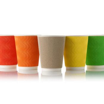 Стаканчики Viva Cup; Одноразовая посуда; Бумажные стаканчики